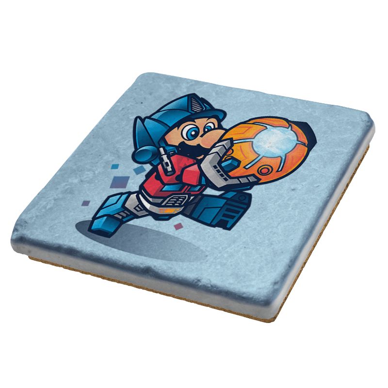 Mario Prime Exclusive - Coasters - Coasters - RIPT Apparel