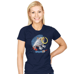 He Wants to be the Fastest One - Womens - T-Shirts - RIPT Apparel
