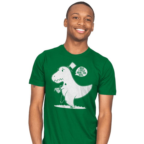 Irish I Could Drink Exclusive - Mens - T-Shirts - RIPT Apparel