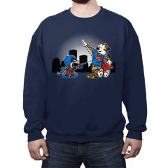Batmin v Superhob - Crew Neck - Crew Neck - RIPT Apparel