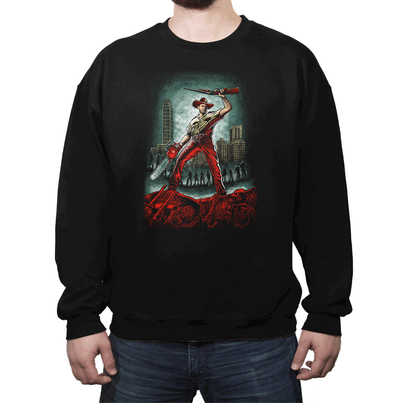Army Of Walkers - Crew Neck - Crew Neck - RIPT Apparel