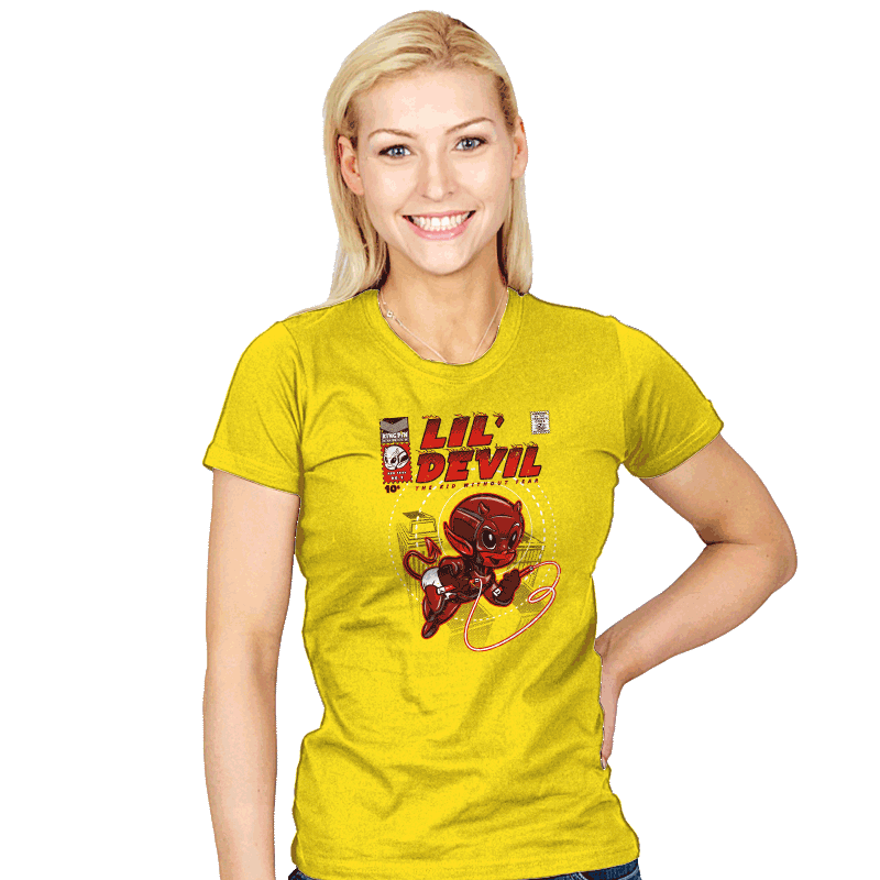 Lil' Devil - Womens - T-Shirts - RIPT Apparel