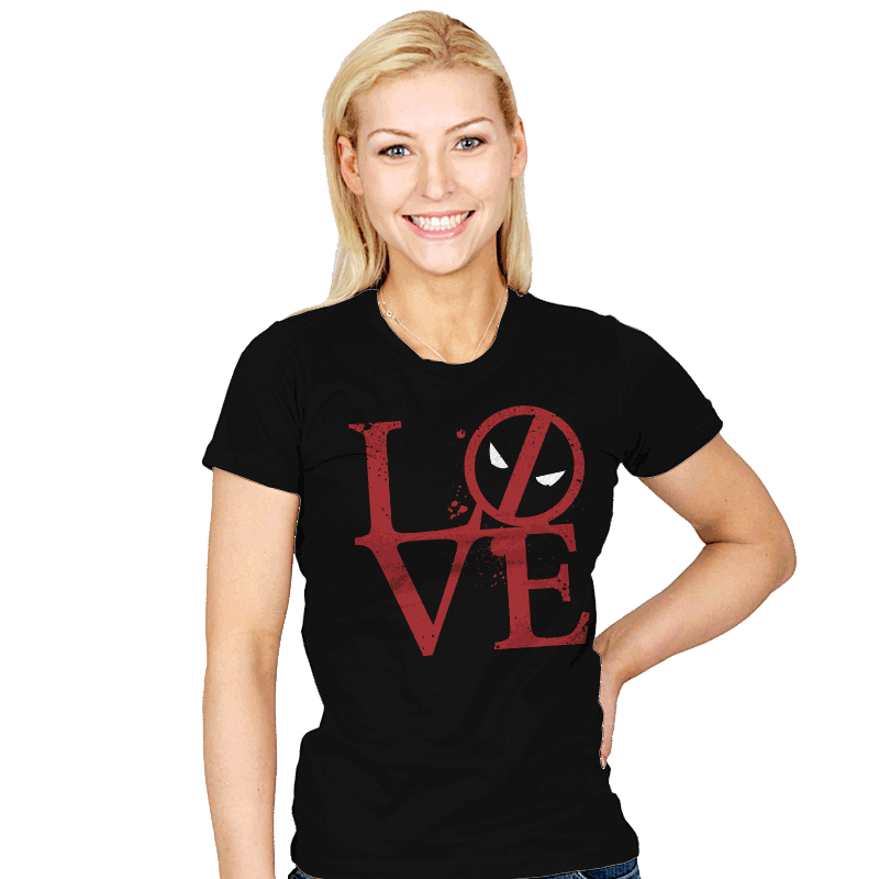 Dead Love - Womens - T-Shirts - RIPT Apparel