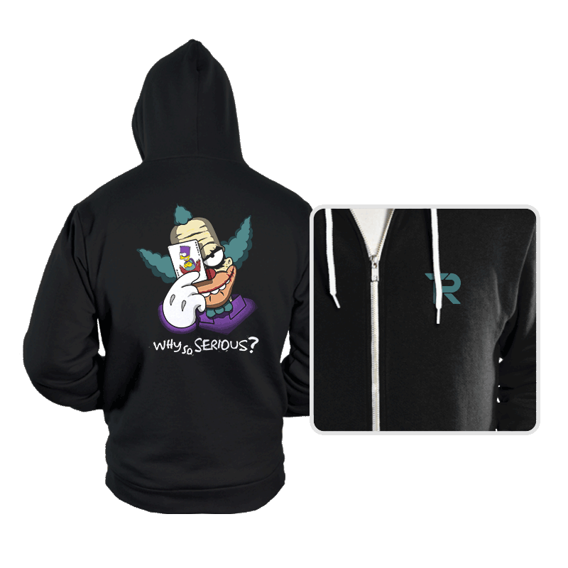 Why so Krusty? - Hoodies - Hoodies - RIPT Apparel