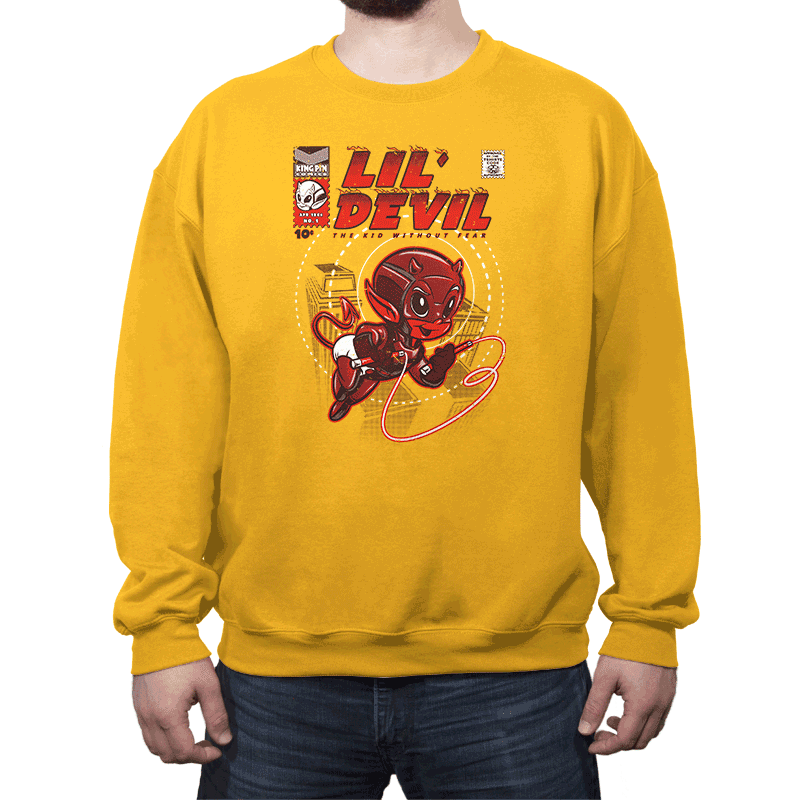 Lil' Devil - Crew Neck - Crew Neck - RIPT Apparel