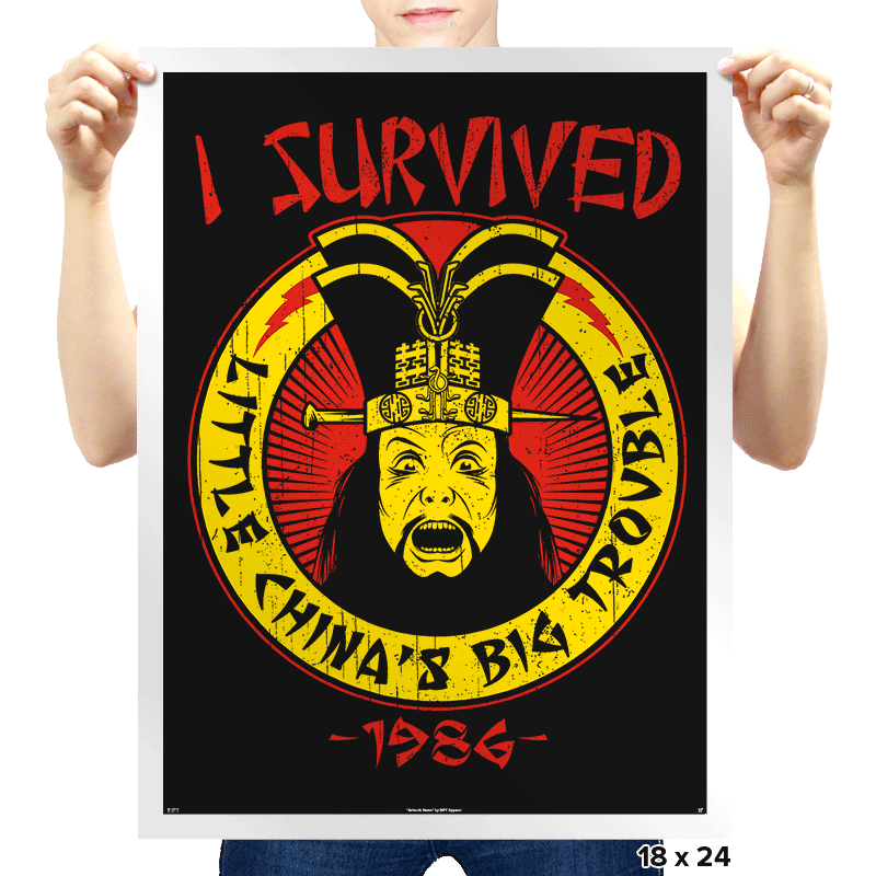 Surviving Trouble - Prints - Posters - RIPT Apparel