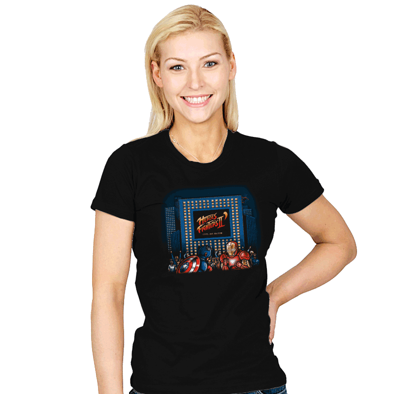 Heroes & Fighters II - Womens - T-Shirts - RIPT Apparel