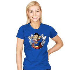 Super boy - Womens - T-Shirts - RIPT Apparel