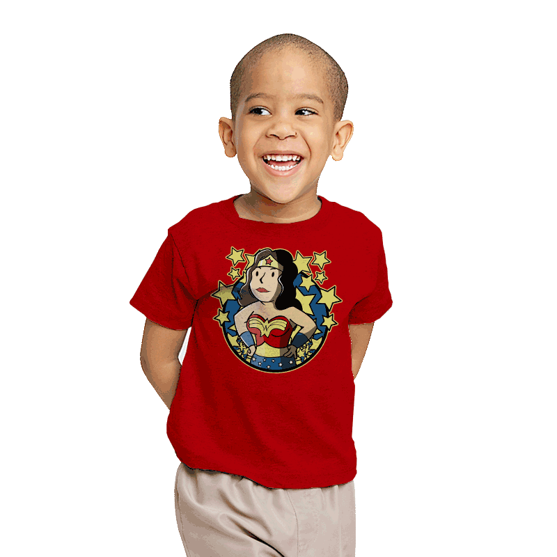 Wonder Girl - Youth - T-Shirts - RIPT Apparel