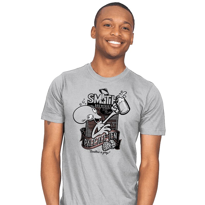 Smith's Pale Ale-ien - Mens - T-Shirts - RIPT Apparel