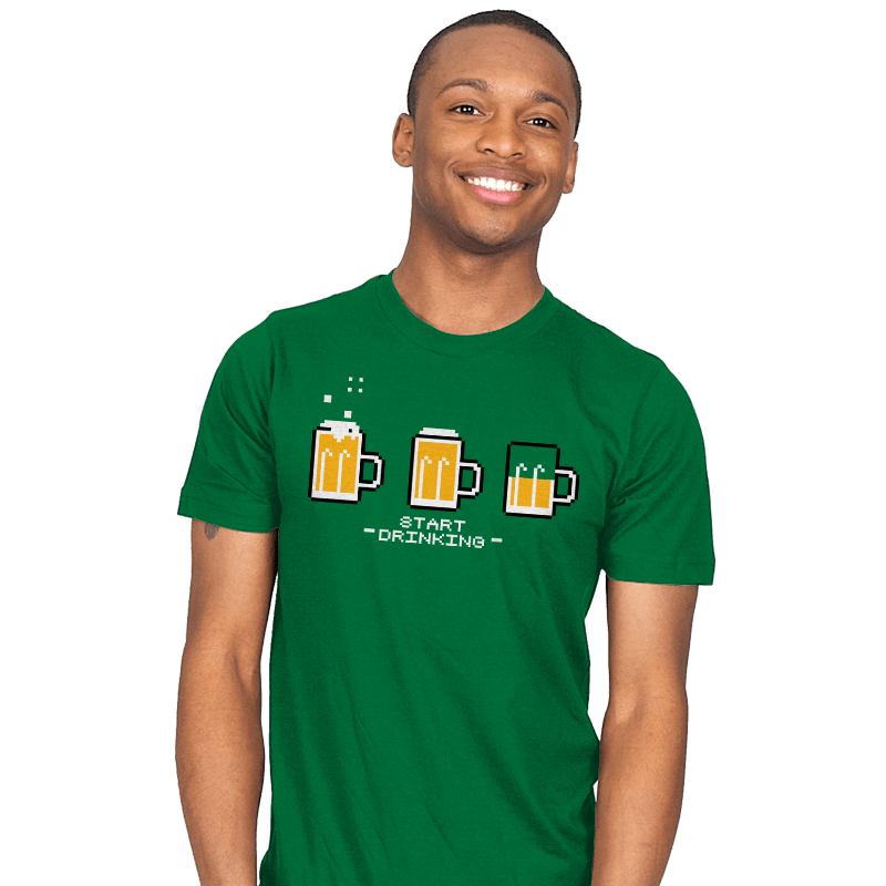 Start Drinking Exclusive - Mens - T-Shirts - RIPT Apparel