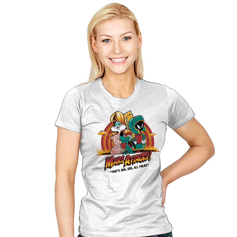 Mars Attacks! - Womens - T-Shirts - RIPT Apparel