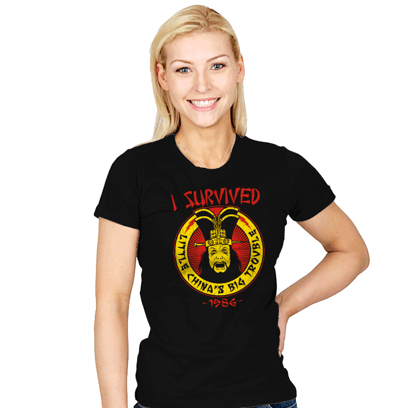 Surviving Trouble - Womens - T-Shirts - RIPT Apparel