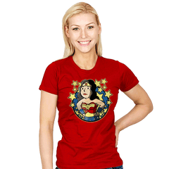 Wonder Girl - Womens - T-Shirts - RIPT Apparel