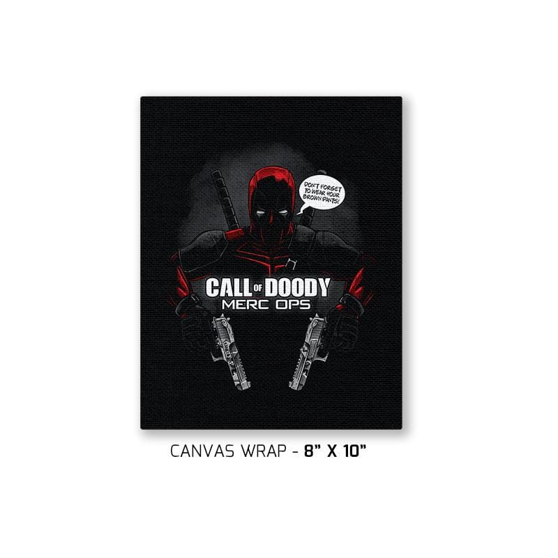 Call of Doody Exclusive - Canvas Wraps - Canvas Wraps - RIPT Apparel