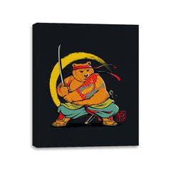 Yakuza Bear Samurai - Canvas Wraps - Canvas Wraps - RIPT Apparel