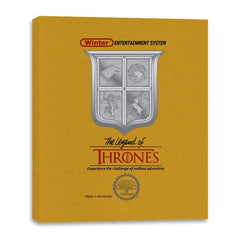 Legend of Thrones - Canvas Wraps - Canvas Wraps - RIPT Apparel