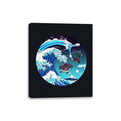 Breath of the Great Wave - Canvas Wraps - Canvas Wraps - RIPT Apparel