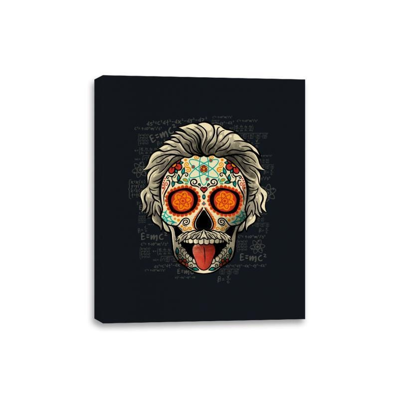 Calavera Einstein - Canvas Wraps - Canvas Wraps - RIPT Apparel