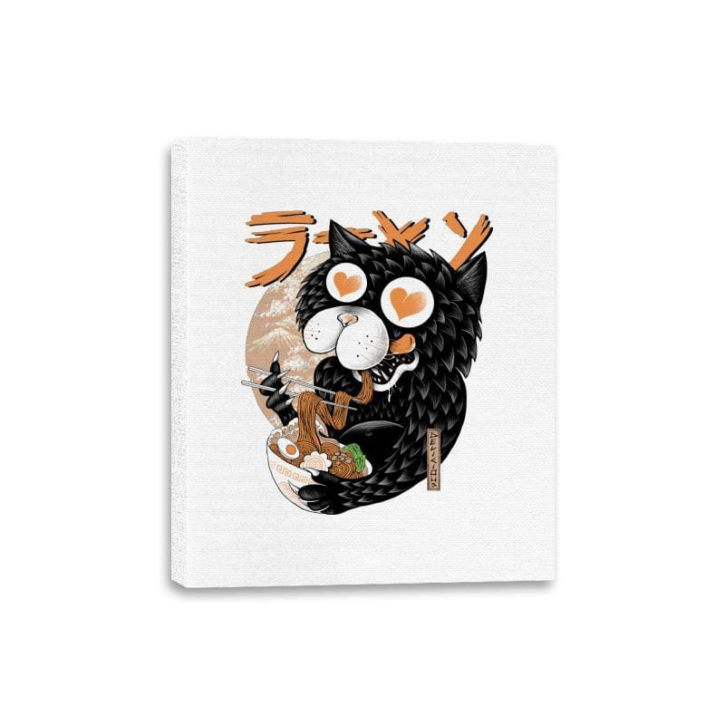 Cat Love Ramen - Canvas Wraps - Canvas Wraps - RIPT Apparel