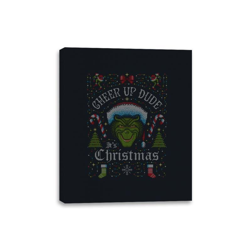Cheer Up Dude, It's Christmas - Ugly Holiday - Canvas Wraps - Canvas Wraps - RIPT Apparel