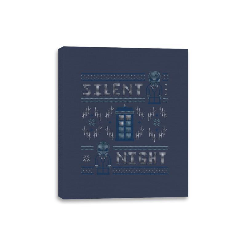 Silent Night - Ugly Holiday - Canvas Wraps - Canvas Wraps - RIPT Apparel