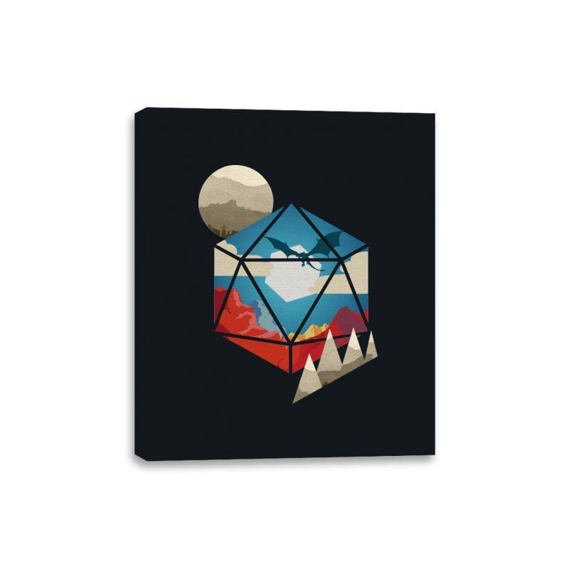 D20 World - Canvas Wraps - Canvas Wraps - RIPT Apparel