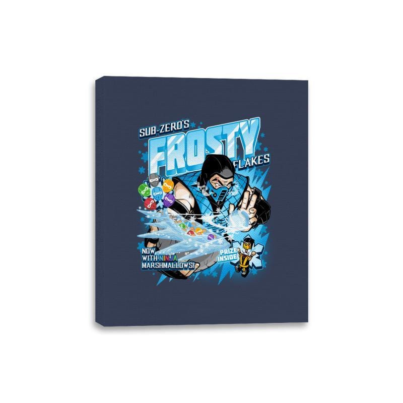 Frosty Flakes Cereal - Anytime - Canvas Wraps - Canvas Wraps - RIPT Apparel