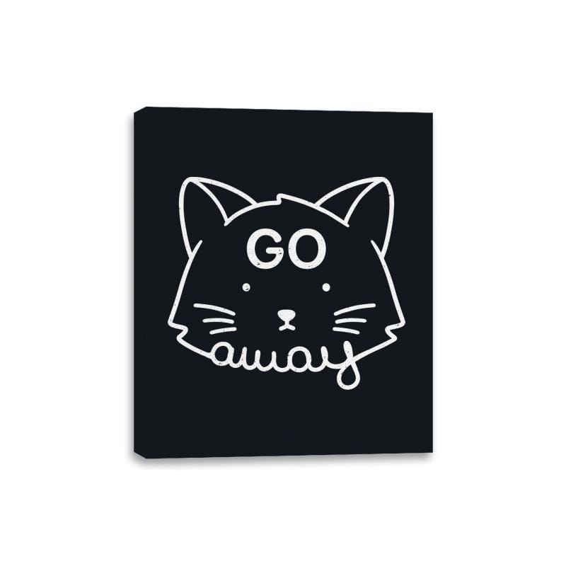Go Away - Canvas Wraps - Canvas Wraps - RIPT Apparel
