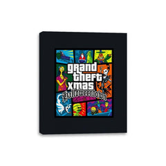 Grand Theft Xmas: Halloweentown - Canvas Wraps - Canvas Wraps - RIPT Apparel