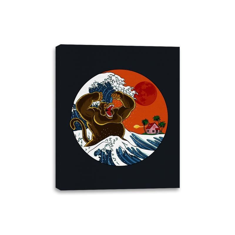 Great Monster From Kanagawa - Canvas Wraps - Canvas Wraps - RIPT Apparel