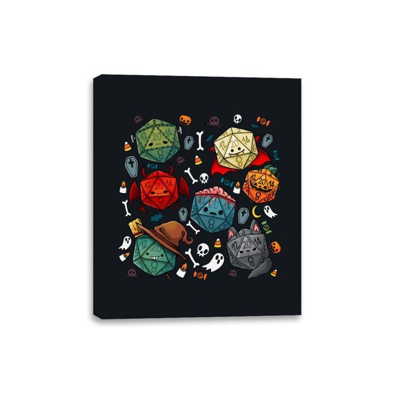 Halloween Dice - Canvas Wraps - Canvas Wraps - RIPT Apparel