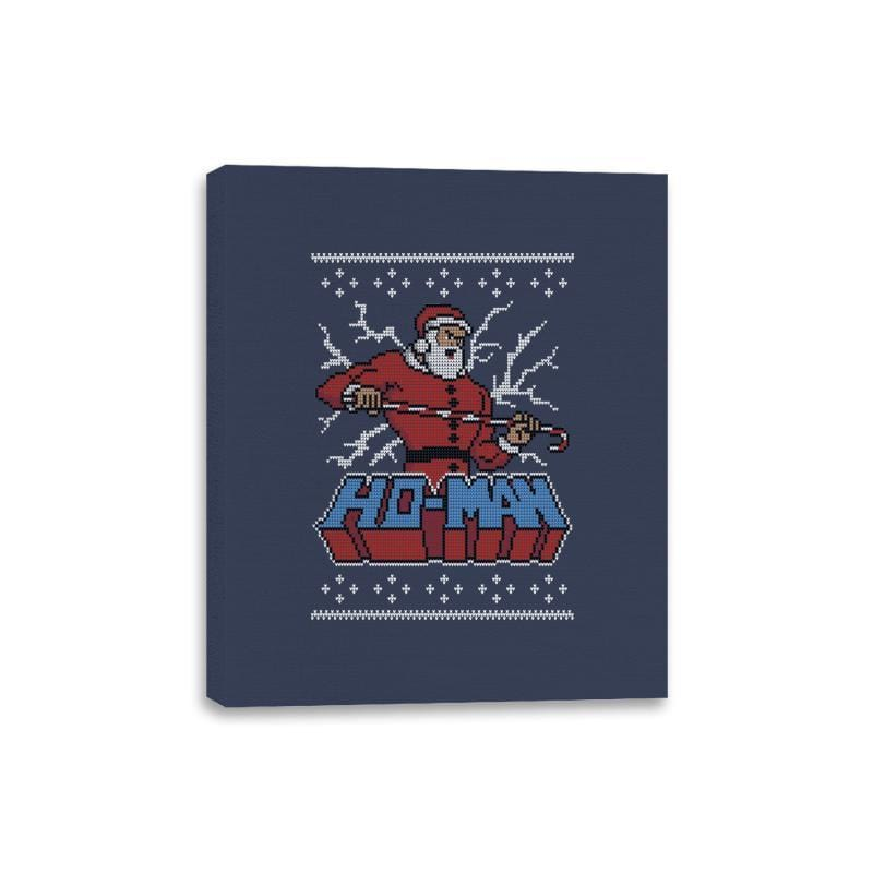 Ho-Man! - Ugly Holiday - Canvas Wraps - Canvas Wraps - RIPT Apparel