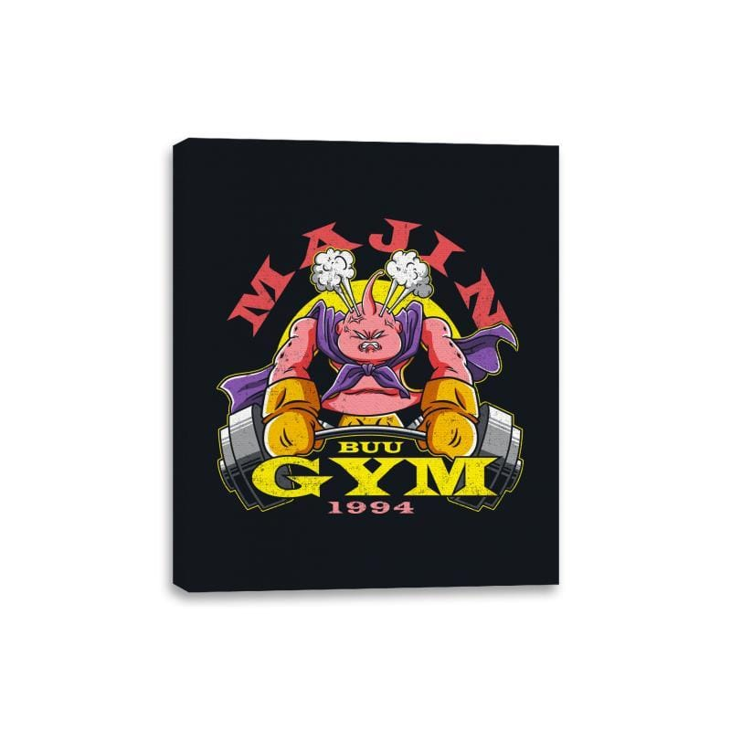 Majin Buu Gym - Canvas Wraps - Canvas Wraps - RIPT Apparel