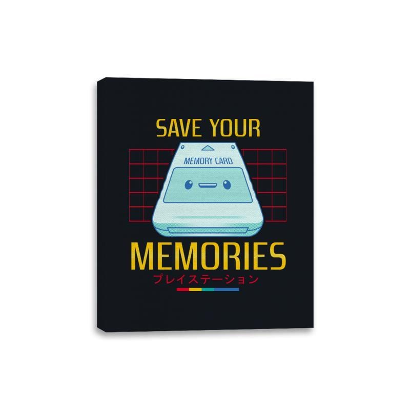 Memorycard - Canvas Wraps - Canvas Wraps - RIPT Apparel