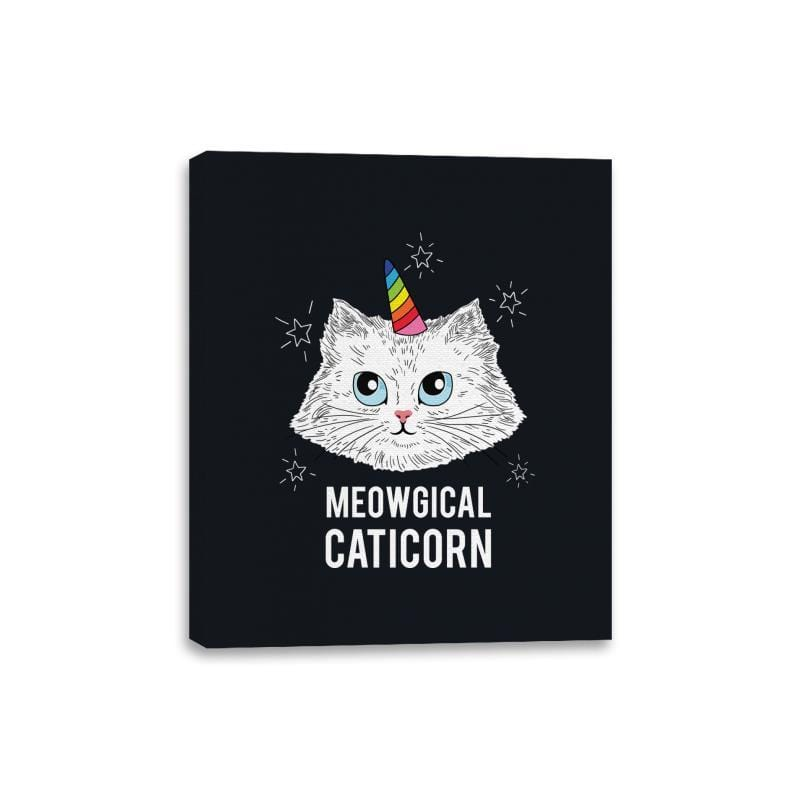 Meowgical Caticorn - Canvas Wraps - Canvas Wraps - RIPT Apparel