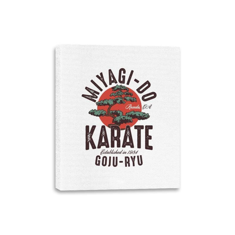 Miyago-Do Karate - Canvas Wraps - Canvas Wraps - RIPT Apparel