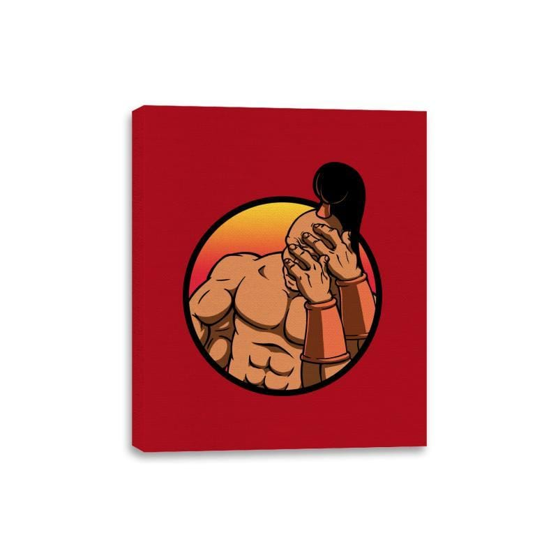 Mortal Facepalm - Canvas Wraps - Canvas Wraps - RIPT Apparel