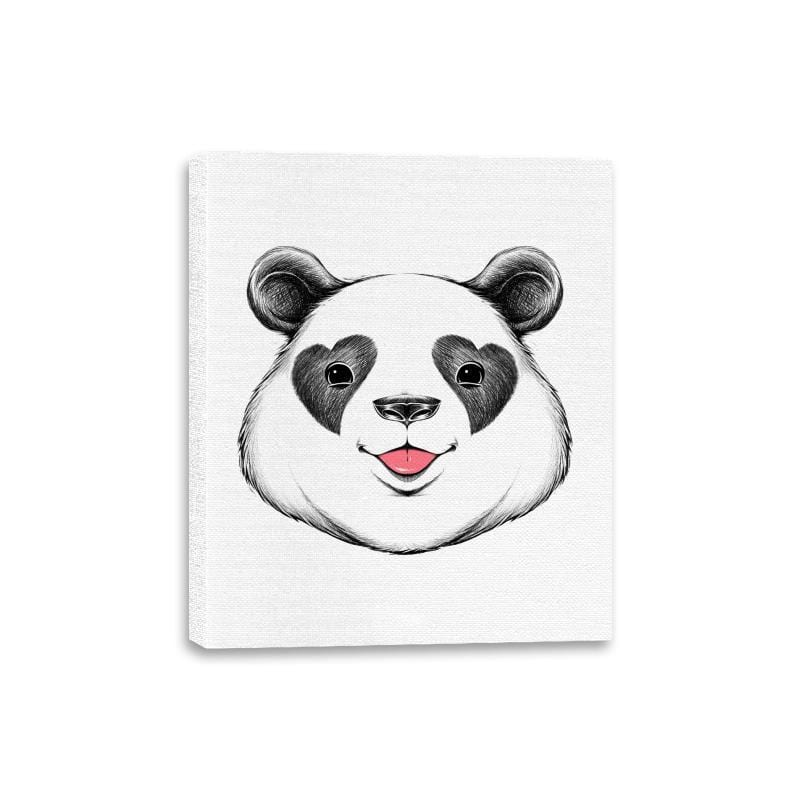 Panda Love - Canvas Wraps - Canvas Wraps - RIPT Apparel