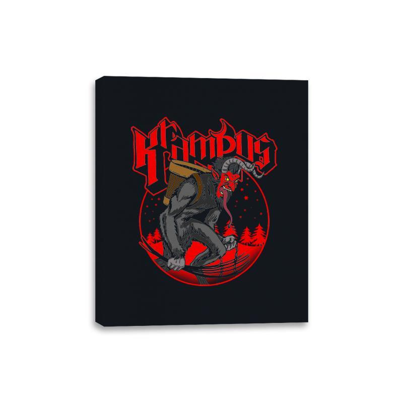 Papa Krampus - Canvas Wraps - Canvas Wraps - RIPT Apparel