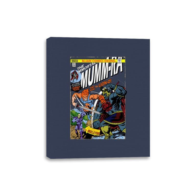 Return of Immortal Mumm-ra - Canvas Wraps - Canvas Wraps - RIPT Apparel