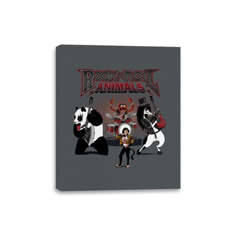Rock & Roll Animals - Canvas Wraps - Canvas Wraps - RIPT Apparel