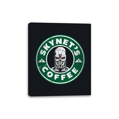 Skynet's Coffee - Canvas Wraps - Canvas Wraps - RIPT Apparel
