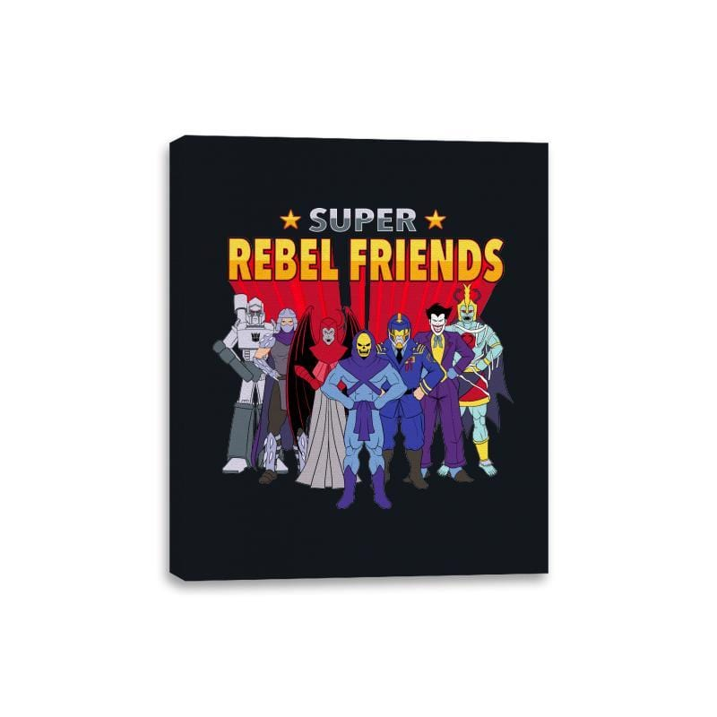 Super Rebel Friends - Canvas Wraps - Canvas Wraps - RIPT Apparel