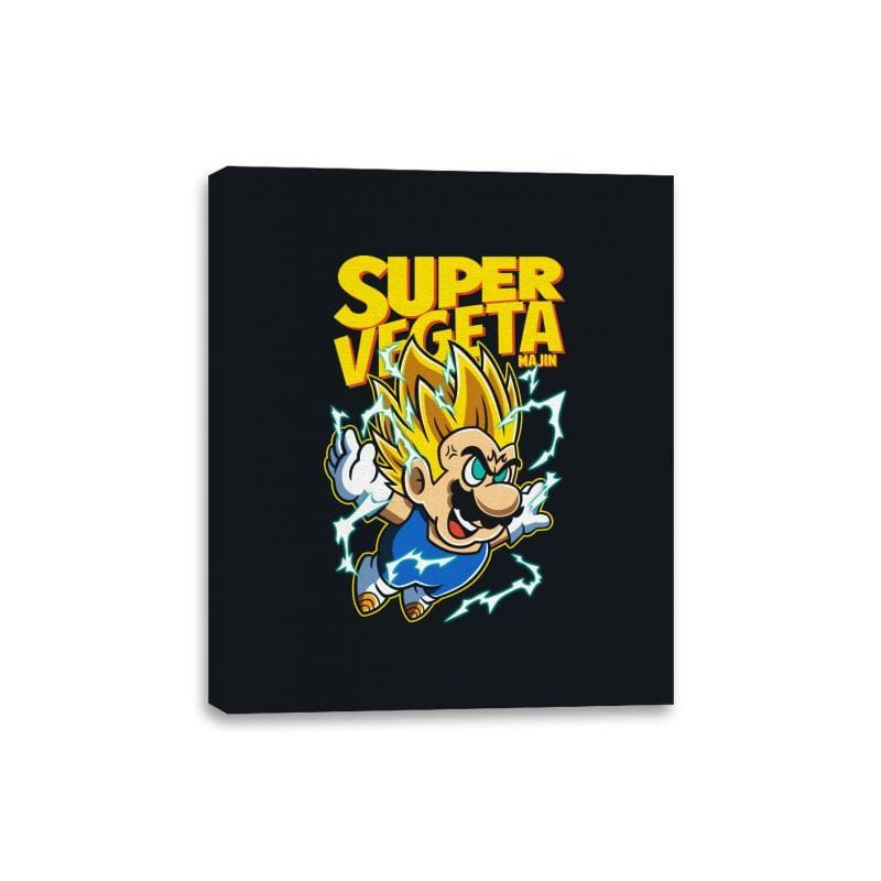 Super Vegeta Bros - Canvas Wraps - Canvas Wraps - RIPT Apparel