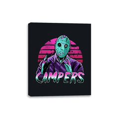 Synth Slasher - Canvas Wraps - Canvas Wraps - RIPT Apparel