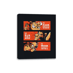 The Good The Bad And The Idiot - Canvas Wraps - Canvas Wraps - RIPT Apparel