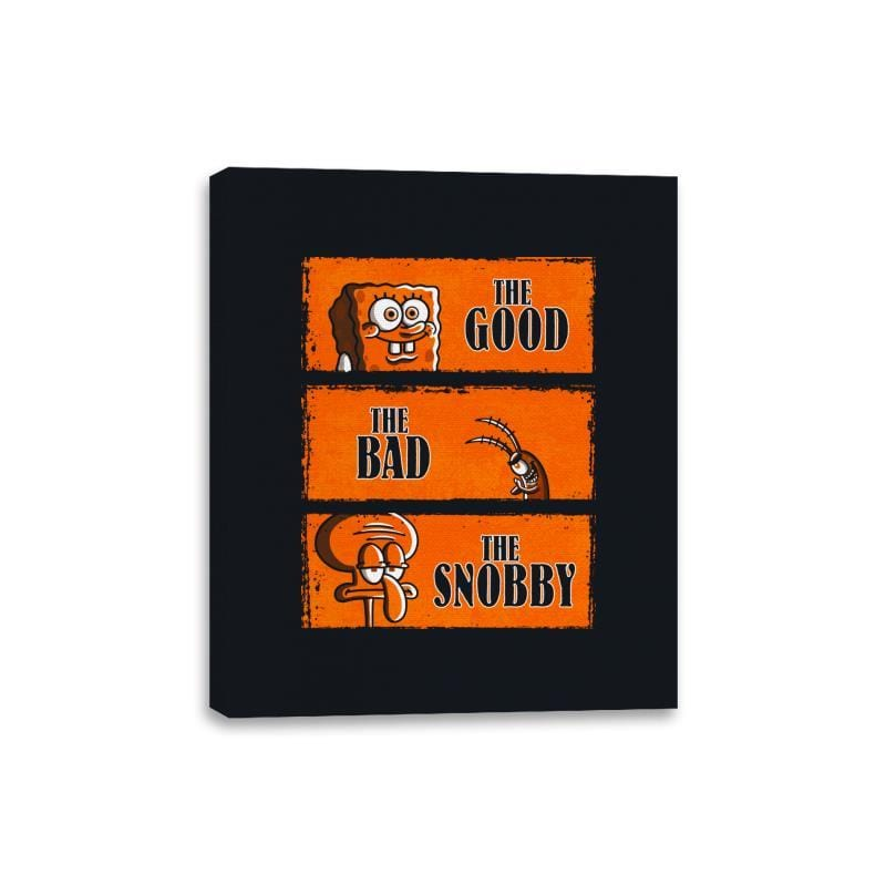 The Good, The Bad and The Snobby - Canvas Wraps - Canvas Wraps - RIPT Apparel