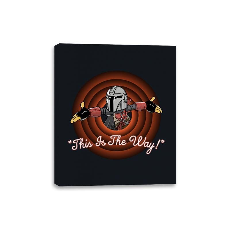 This Is The Way - Canvas Wraps - Canvas Wraps - RIPT Apparel