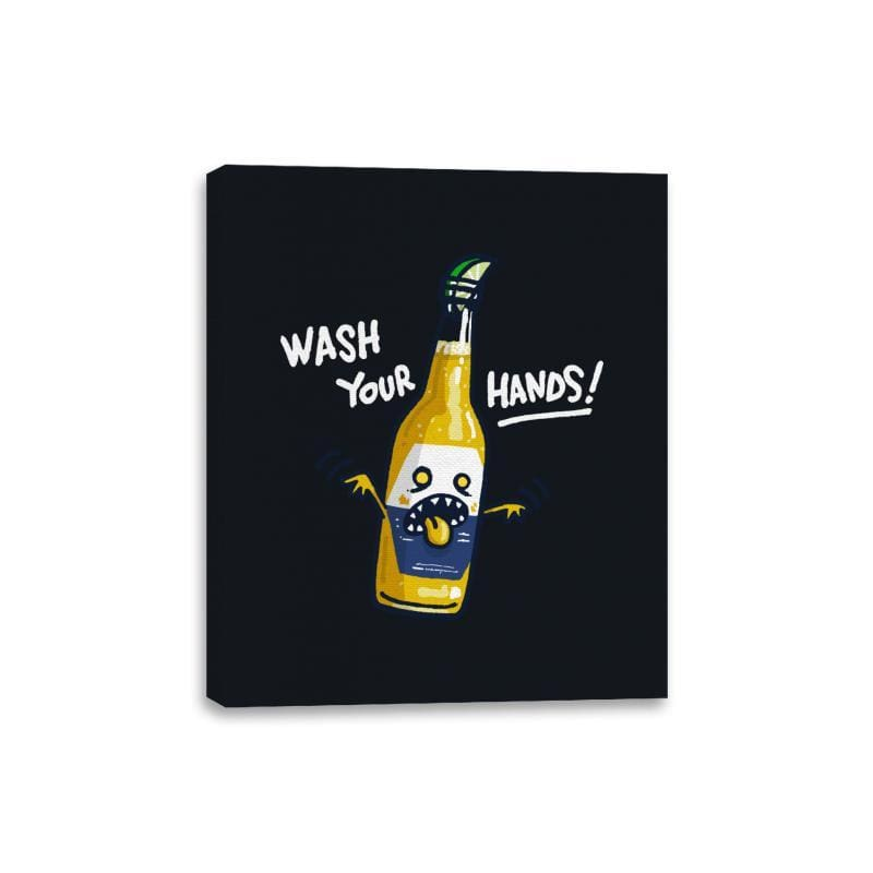 Wash Your Hands - Canvas Wraps - Canvas Wraps - RIPT Apparel